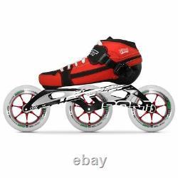 100% Original Bont Pursuit 2PT 195MM Black CXXV Speed Inline Skates