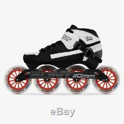 100% Original Bont Pursuit 3PT Package Speed Inline Skates Heatmoldable Carbon