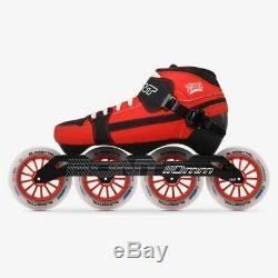 100% Original Bont Pursuit 3PT Speed Inline Skates Heatmoldable Carbon Fiber