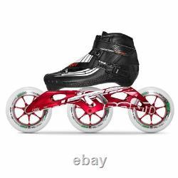 100% Original Bont SEMI RACE 2PT 195MM CXXV Speed Inline Skates Heatmoldable