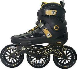 125mm Engage 3-Wheel Inline Speed Skates Sz 7