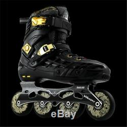 2020 New Design Speed Inline Skates 3x100mm or 4x76/80mm Wheels High Ankle