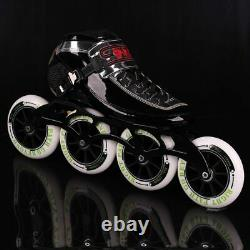 2020 SPIRIT Speed Skate Inline Skates 4 x 90 100 110mm Carb Fiber