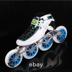 2020 SPIRIT Speed Skate Inline Skates 4 x 90 100 110mm Carbon Fiber