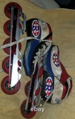 5 Wheel Inline Speed Skates