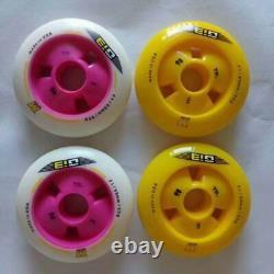8 pcs Gi3 F1 90mm 100mm 110mm Inline Speed Skates Wheel 608 bearing 24mm