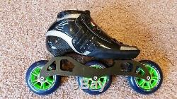 Atom-Luigino Inline Speed Skating Package Size 6 Very Good Shape