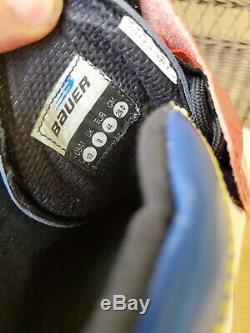 Bauer Inline Skates 5 x 78 Wheels Speed Carbon Fiber Boot Size 10 Rollerblades