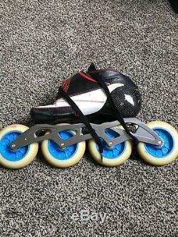 Bont Enduro Boot Inline Speed Skates Size 5 But Fits Size 6