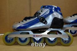 Bont Inferno 5-Wheel Inline Speed Skates Mens 9/42
