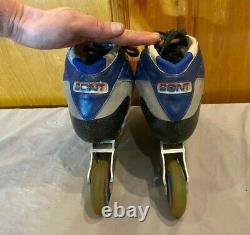 Bont Shark 2 Carbon Fiber 5-Wheel Inline Speed Skates withExtra Wheels US 10 EU 44