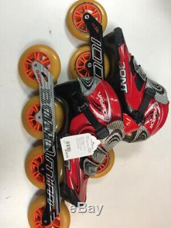 Bont Vaypor Used 100mm 44mm Skate Size InLine Speed Skates