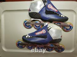 Bont inline speed skates combo Includes boots, frames, bearings, and wheels