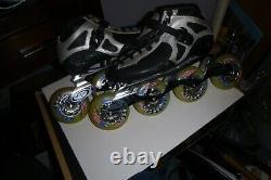 CanarIam inline roller skates Speed RACE SZ 6 VERY RARE