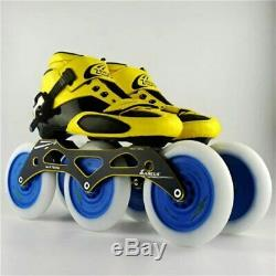 Carbon Fiber Fiberglass Speed Inline Skates 3125 Wheel Kid's Adult