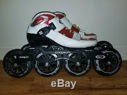 Cityrun Champion Inline Speed Skates Size 7