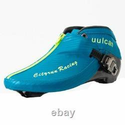 Cityrun Inline Speed Roller Skates Carbon Fiber Boot for Adult Kids Men