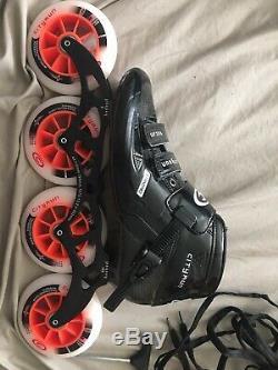 Cityrun Vulcan Speed Inline Skates Carbon Fiber Professional Competition Skates