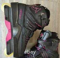 Deshi Dk4 Pink Aggressive Skates sz. 12 inline skates rollerblades pro speed
