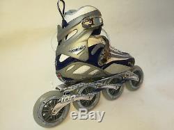 Fila FM 100 Lady silver blue Speedskate Damen Fitness Inline Skates 8015 Gr. 38