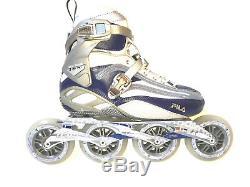 Fila FM 100 Lady silver blue Speedskate Damen Fitness Inline Skates 8015 Gr. 39