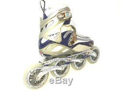 Fila FM 100 Lady silver blue Speedskate Damen Fitness Inline Skates 8015 Gr. 40,5