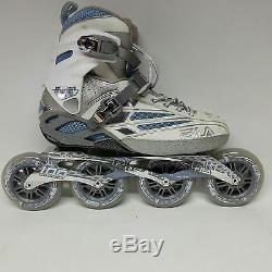 Fila FM 100 Lady silverlight blue Speedskate Damen Fitness Inline Skates Gr. 40,5