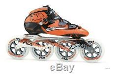 Fila Matrix Evolution Speed Marathon Inline Skates 110 mm Rollen Gr. 46 TOP