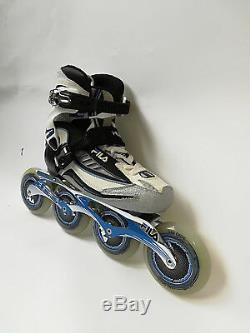 Fila Nine 100 Lady black blue Marathon Speedskate Inliner Skates 8011 Gr. 40,5