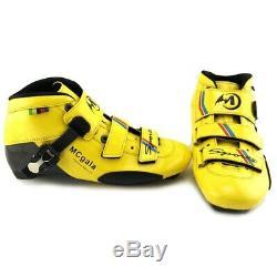 Glass Fiber Boots Professional Speed Inline Skates Women Men 3110MM Wheels