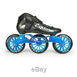 ISPORTS Speed Inline Skates Carbon Fiber Competition Skate 3125mm or