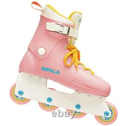 Impala Lightspeed Light Speed Inline Skates in-Line Pastel Pink