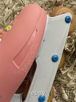 Impala Lightspeed Light Speed Inline Skates in-Line Pastel Pink/Yellow USA SZ 7