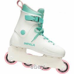 Impala Lightspeed Light Speed Inline Skates in-Line White-Turquoise