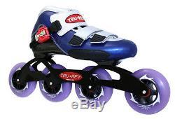 In-line Speed Skates by Trurev. Size 8