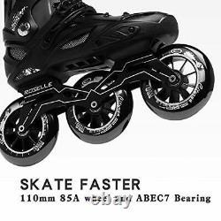 Inline Speed Racing Skates High Performance Outdoor Roller Skates for Men JEU