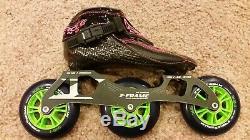 Inline Speed Skate Package Pinnacle Size 3.5