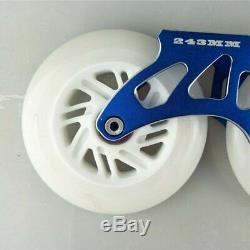Inline Speed Skates Frame Flashing Wheel Bearing Combination for 3X110mm