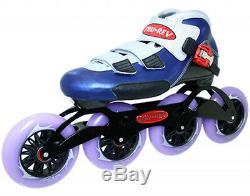 Inline Speed Skates TruRev with 110mm skate wheels. Size 9