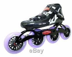 Inline Speed Skates by Trurev. 3 or 4 wheel skate frame, ceramic bearings
