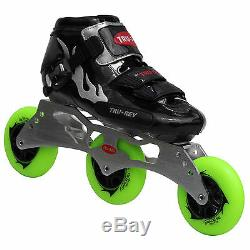 Inline Speed Skates by Trurev. 3 skate frame, ceramic bearings