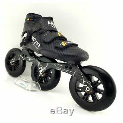 JAPY Glass Fiber Boots Professional Speed Inline Skates Women Men 3125MM