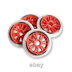JAPY Inline Speed Skates Wheels 85A 100mm 110mm for Indoor Outdoor Asphalt