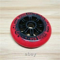 JEERKOOL 110/100/90mm 85A Inline Speed Skates Wheel for Asphalt Street Durable