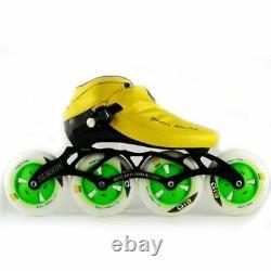 JEERKOOL Carbon Fiber Fiberglass ZODOR Inline Speed Skates Kid Adult