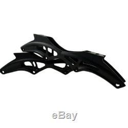 JEERKOOL Carbon Fiber Inline Speed Skates Frame 4110mm Wheel 195mm Mount
