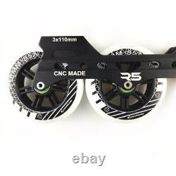 JEERKOOL Inline Speed Skates Base 3110mm Aluminium Alloy Skates Frame 150 to