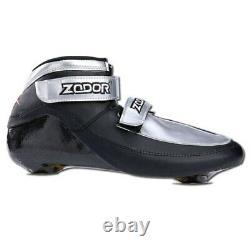 JEERKOOL Roller Skates Inline Speed Skates Shoe 6 Layers Carbon Fiber Ice