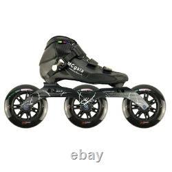 JK 3125mm Wheels MCgala Professional Inlines Speed Skates Carbon Fiber Shoes