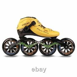 JK Cityrun Speed Inline Roller Skates Professional Competition Skating Patines